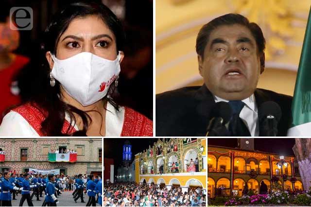 Barbosa y alcaldes olvidan covid para dar el grito con todo y baile