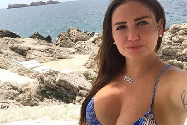 Celia Lora ruge en Instagram
