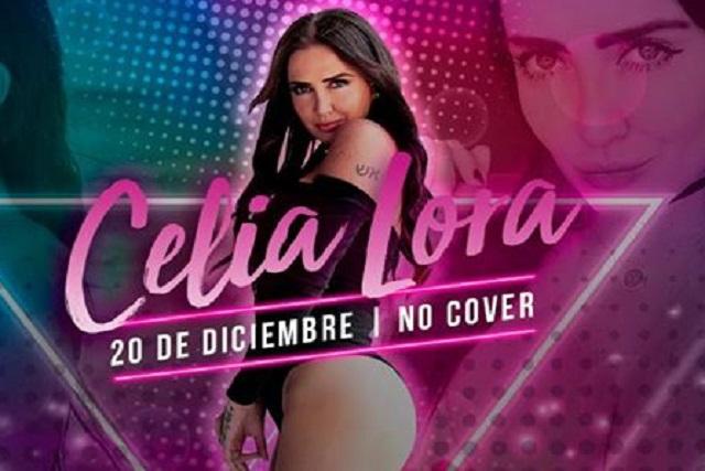 Celia Lora se presentará en Puebla