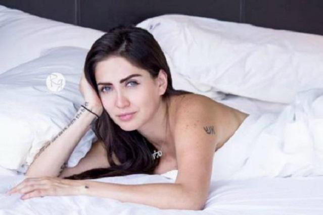 Celia Lora reta a Instagram con fotos de su cuerpo desnudo sin censura