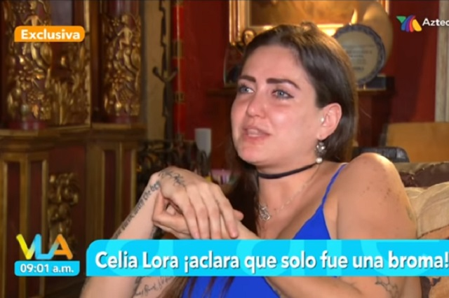 Celia Lora esto dijo sobre su broma de matar a AMLO