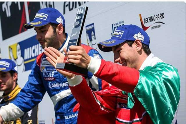 Fin de semana de grandes triunfos para el piloto Alfonso Celis Jr.