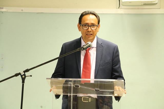 Miguel Ángel Célis Flores, nuevo rector de la Universidad Tecnológica de Puebla