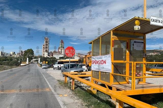 Ayuntamiento de Cuautinchan levanta la suspensión a Cemex