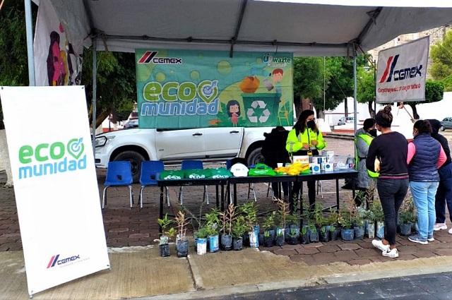 Aumentan cultura del reciclaje en Tecali de Herrera