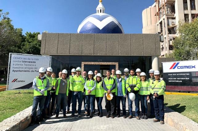 Ayuntamiento de Puebla y CEMEX refuerzan lazos en favor de habitantes