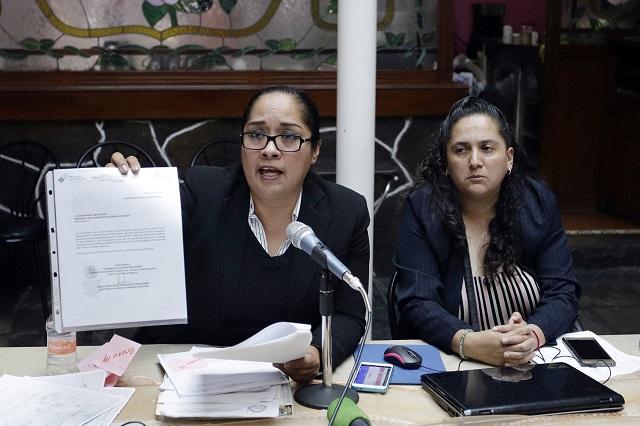 La acusan de desvío, pero solo la denuncian en FGE por amenazas