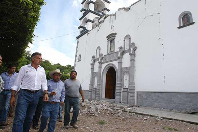 Inicia Gali censos en las zonas afectadas por el sismo