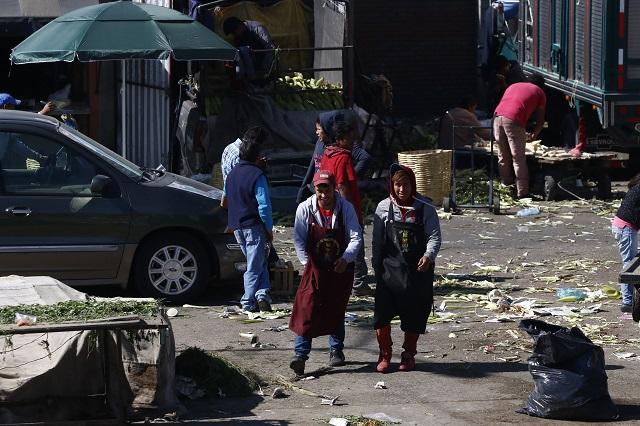 Alertan por brotes de Covid-19 en Central de Abasto de Puebla