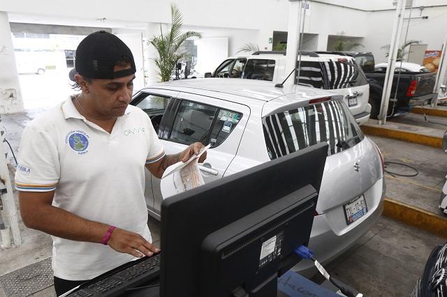 Develan nuevo calendario de verificación vehicular 2016