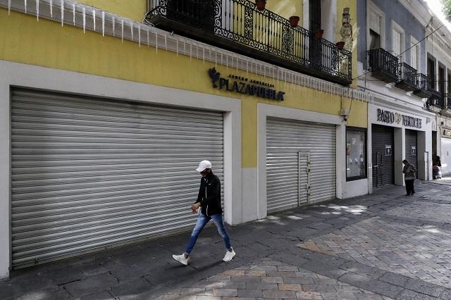 Habrá reapertura de comercios en Puebla pero equilibrada: Barbosa