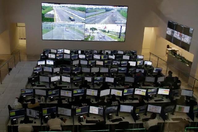 Encienden el nuevo Centro de Control y Comando en Puebla