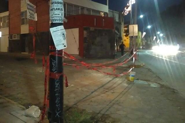 Calles del Centro Histórico siguen cercadas aún sin riesgo de derrumbes