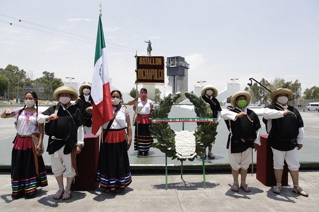 Austera ceremonia de 5 de mayo encabeza el gobernador Barbosa