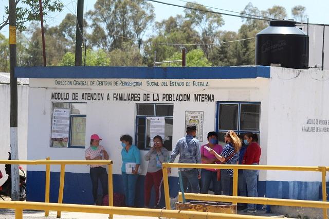 Podrían ser liberados 11% de los reclusos de Puebla