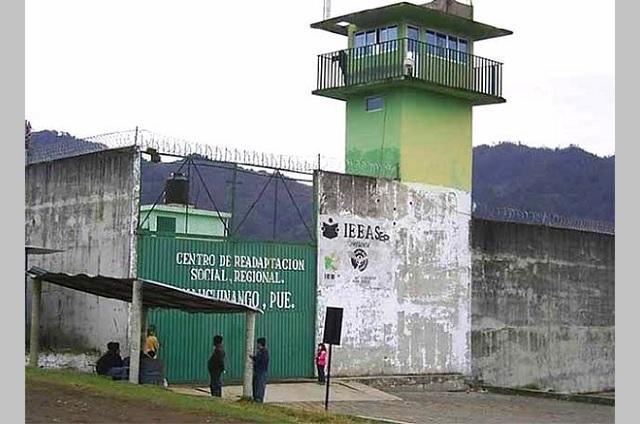 Por tercera vez, registran caso de Covid en CERESO de Huauchinango