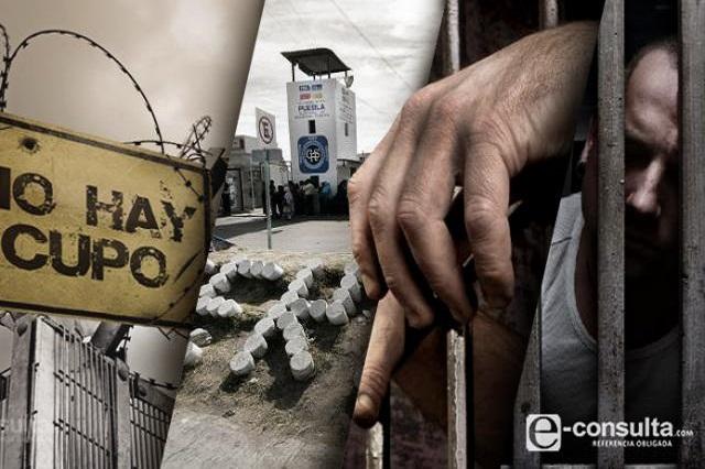 Sin sentencia 2 de cada 5 reos con nuevo sistema penal en Puebla