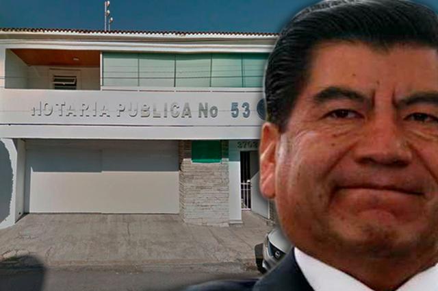 Notaría de Mario Marín será revocada por inactiva