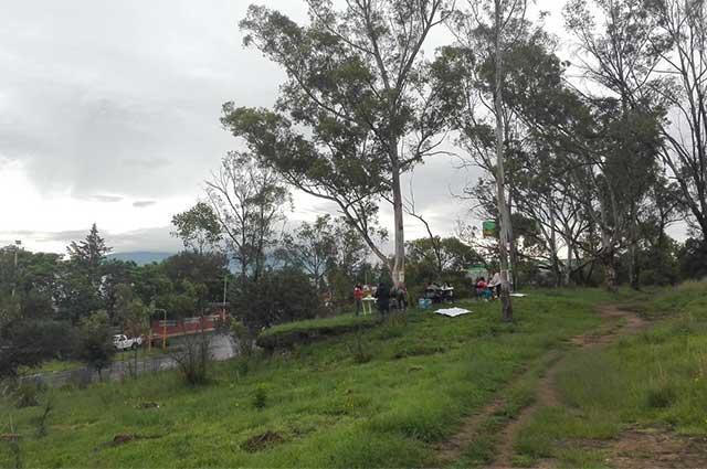 Crean petición en Change.org para  revertir obras en Cerro de Amalucan
