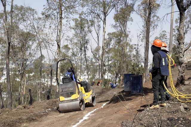 Obras en cerro de Amalucan no protegieron arqueología: Merlo