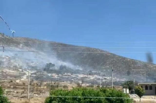 Luego de 16 horas sofocan incendio del cerro El Monumento