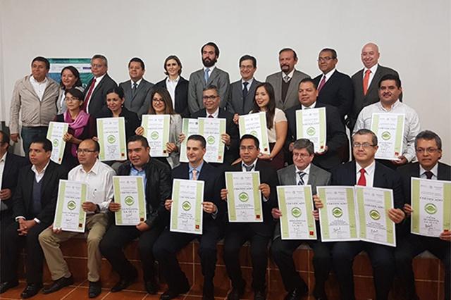 Entrega Profepa certificados ambientales a 20 empresas