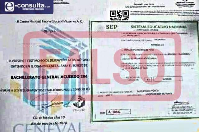 Hasta en 3 mil pesos venden certificados escolares falsos en Atlixco