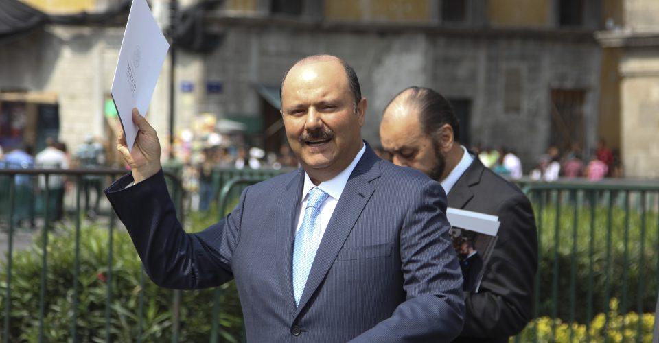 Se gira orden de aprehensión en contra de César Duarte