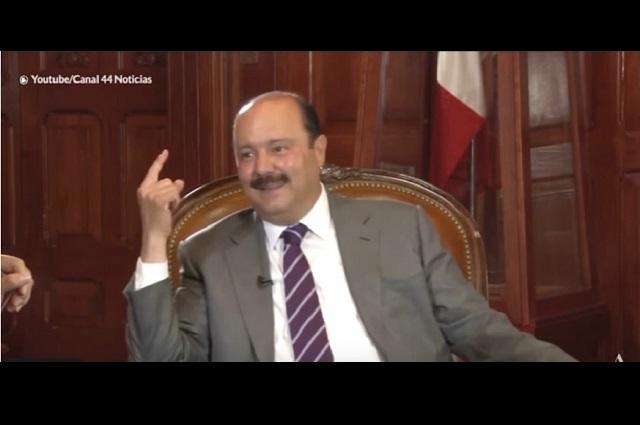 César Duarte envía carta al PRI y le pide que no lo expulse