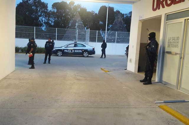Hombres armados rescatan a herido del CESSA de Esperanza