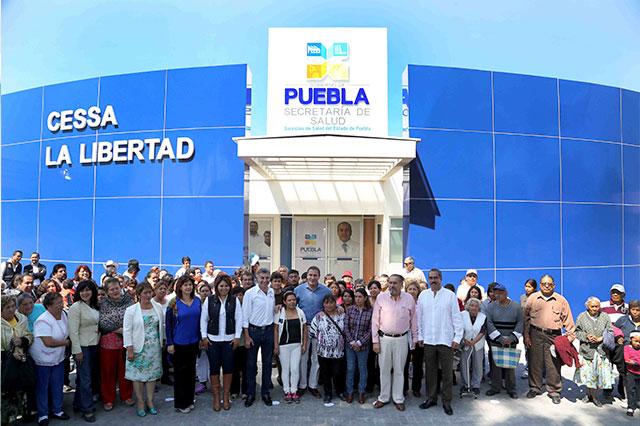 Inauguran Cessa de La Libertad con inversión de 26 mdp