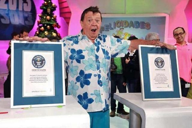Los 2 récords Guiness de Chabelo que pocos conocen