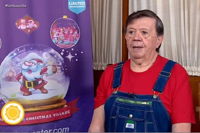 """Chabelo dice que en Navidad cenará """"taquitos de caca"""""""