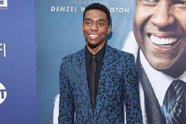 Chadwick Boseman grabó episodios de What If...? como Black Panther
