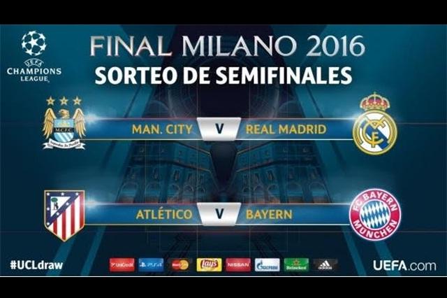 Atlético de Madrid vs Bayern Múnich en las semifinales de la UCL