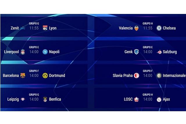 Vuelve la Champions League con partidos que sacarán chispas