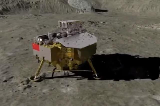 Chang'e-4 confirma la teoría de un impacto en la cara oculta de la Luna