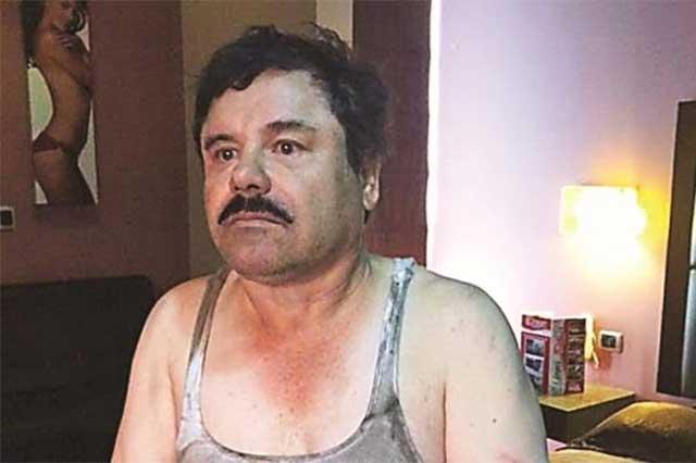 El Chapo será acusado de 79 cargos en cortes de Estados Unidos