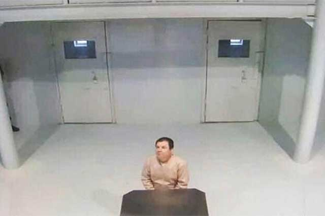 Peritaje médico concluye que El Chapo está deprimido y que tiene alucinaciones