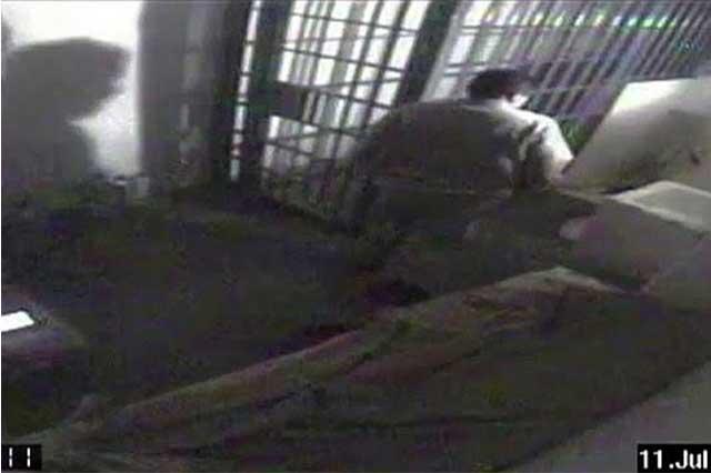 En el video original se escucha cómo excavan el túnel de El Chapo