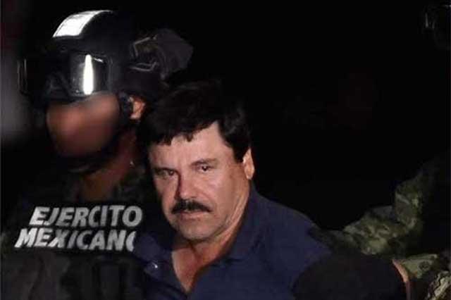 Tres de los amparos de El Chapo estaban mal formulados y 2 fueron rechazados