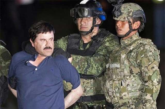 El Chapo no enfrentará cargos por haberse fugado de Almoloya