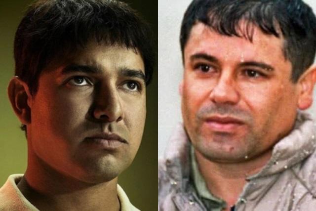 Actor poblano de Narcos México va a la Corte a conocer al Chapo