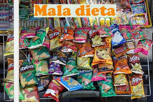 Comida chatarra, un placer culposo de mexicanos