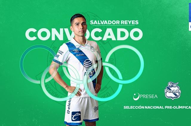 Salvador Reyes del Puebla, convocado a Selección Olímpica