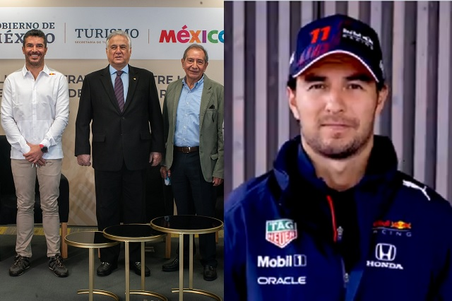 Sectur nombra a Checo Pérez embajador de México en el mundo