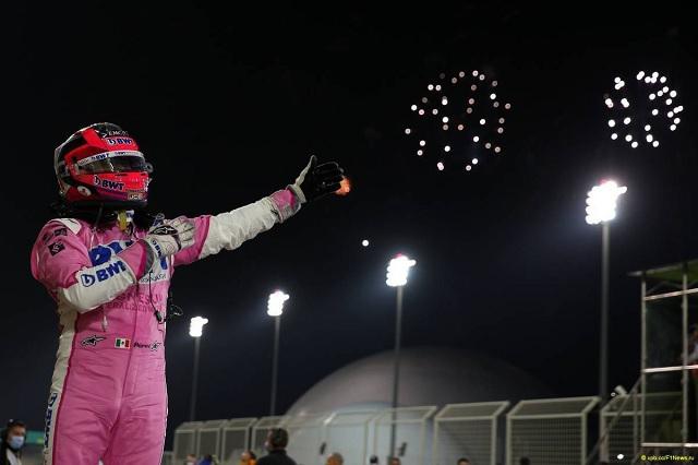 Checo termina el 2020 como quinto mejor piloto, según directores de F1