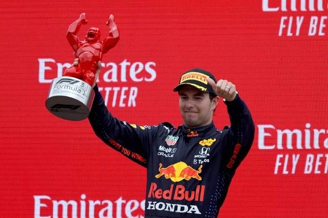 Histórico: Checo Pérez liga por primera vez dos podios en la F1