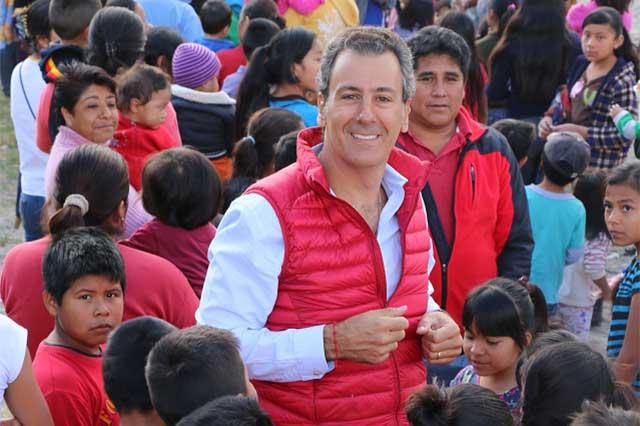 Pepe Chedraui se une a los Reyes Magos con 15 mil juguetes
