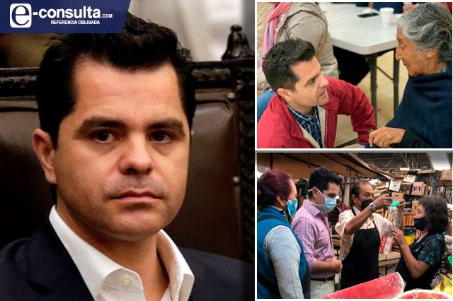 Con tono de campaña Marcelo García lanza spots por informe